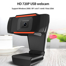 For PC Computer phone Home office video Lens 1080P USB camera computer rotatable 720P USB HD Webcam Video Recording Web Camera cheap