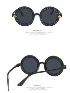 Bee Sunglasses Fashion Parent-Child VANEASEL Round Little Baby Boy's Korean Kids Cute