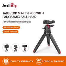 SmallRig Universale Da Tavolo Mini Treppiede con Panoramic Ball Head Per Compact Dslr/Fotocamere Mirrorless/Smartphone Treppiede-2664(China)