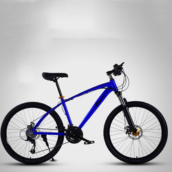 Mountain Bike 26 Inch Aluminum Alloy Double Disc Brake speed Off Road Shock Absorber Student Bicycle