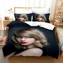 Taylor Girl Singer Celebrity 3d Bedding Set Duvet Covers Pillowcases 1989 Comforter Sets Bedclothes Bed Linen