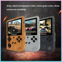 ANBERNIC-mando de juegos RG351V, más de 2400 juegos clásicos, portátil, sistema de código de bolsillo abierto, consola de juegos portátil