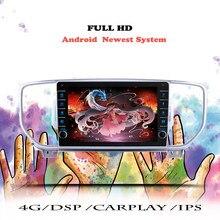 Android 10 rádio do carro para kia sportage 4 ql 2016 2017 2018 navegação gps multimídia player de vídeo dvd nenhum 2din 2 din dvd unidade principal