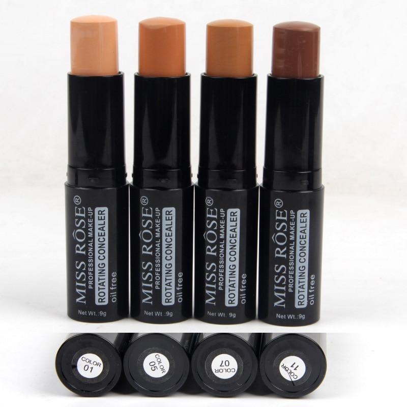 Makeup Rotating Concealer Box Face Base Perfect Covers Concealer Foundation Oil Free Waterproof Matte Wear Concealer Stick - 6