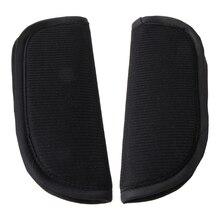 2 Pcs Universal Baby Stroller Belt Cushion Car Seat Strap Vehicle Shoulder Cover D7YD