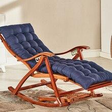 Кресло-качалка для взрослых, складное кресло для обеда, легкое кресло для гостиной, спальная кровать, домашний балкон, кресло для отдыха, старое бамбуковое кресло