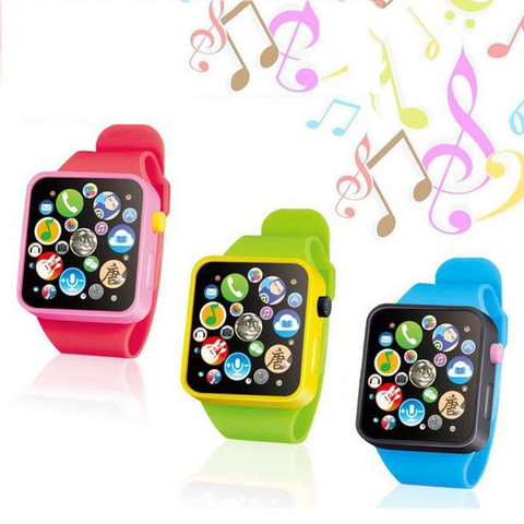 6 Colors Plastic Digital Watch for Kids Boys Girls High quality Toddler Smart Watch for Children Dropshipping Toy Watch Islamabad