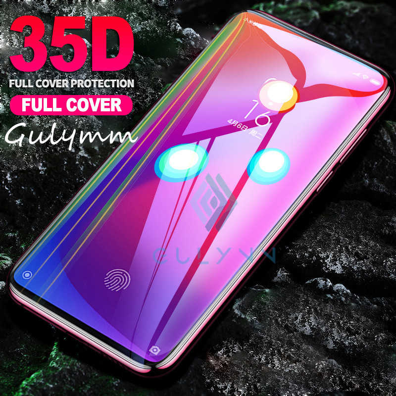 Vetro di protezione Per Xiaomi Redmi 7 8 Un Andare 35D Temperato Protezione Dello Schermo Per Redmi 5 Più K20 Nota 8 7 6 5 Pro di Vetro Della Copertura Della Pellicola