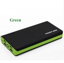 4USB Power Bank Waterproof Portable 10000 MAh for All Smart Phone Battery Mini Powerbank Fast Charging External Battery LCD LED