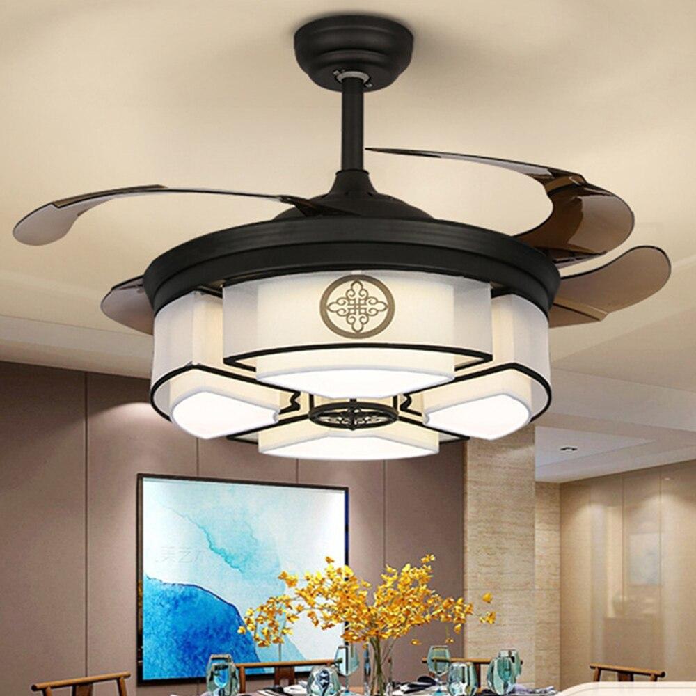 42 дюйма Китайский светодиодный потолочный светильник с дистанционным управлением бесшумный Электрический вентилятор для гостиной, спальн...