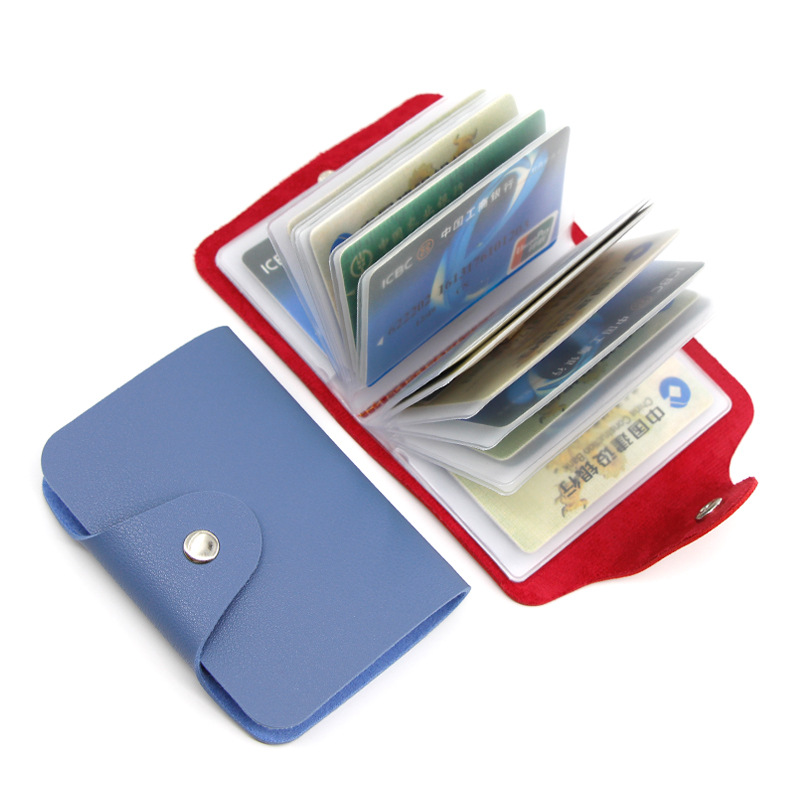 Multi-functional Purse Wallet Personalized & Creative Wallet Card Holder Business Card Card Holder Wallet Credit Wallet Card Cla