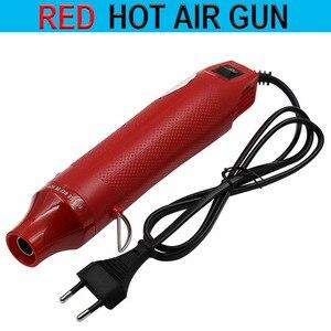 Image 4 - XINGWEIANG 1pc 220V חשמלי אוויר חם אקדח/אקדח חום עם תמיכה מושב DIY כלי חום אקדח