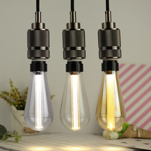 Edison Bulb Retro Light Guide Lamp E27 5W ST64 LED Filament Incandescent Ampoule Bulb Bulb Nordic Simple For Chandelier