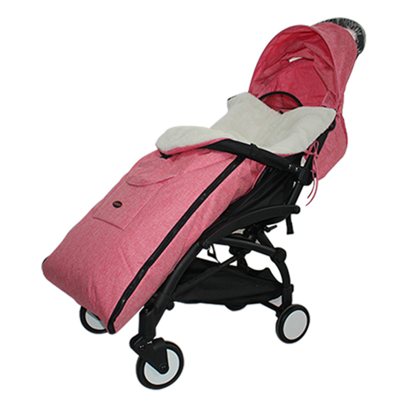 Baby Sleeping Bag Winter Thick Warm Newborns Sleeping Bag Kids Toddler Sleeping Bag For Stroller Stroller Accessory Wheelchair