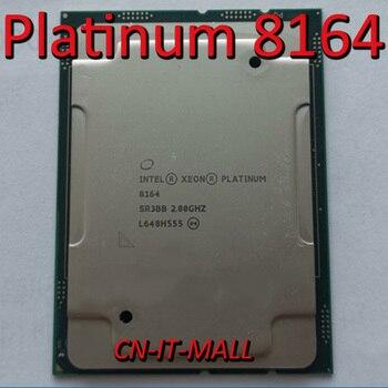 Pulled Xeon Platinum 8164 Server cpu 2.0G 35.75M 26Core 52 Thread LGA3647 Processor