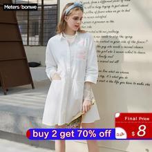 Metersbonwe Marke Kleid Damen Frühling Sommer Neue Einfache Kleid Süße Kleid Nette Kleid Mode Mädchen