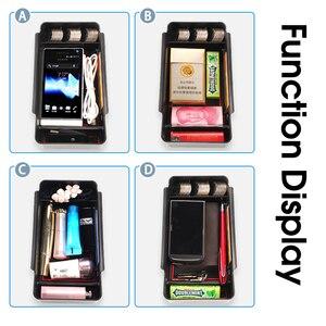Автомобильный Органайзер, аксессуары для Citroen DS7 DS 7 2017 2018 2019, подлокотник, коробка для хранения, подставка для монет, коробка для карт, наклей...