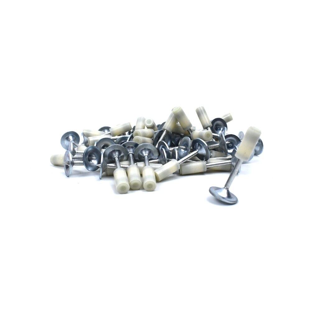 100Pcs Mini NS-201 Steel Nails 20mm For Mini N2 Manual Steel Nail Gun