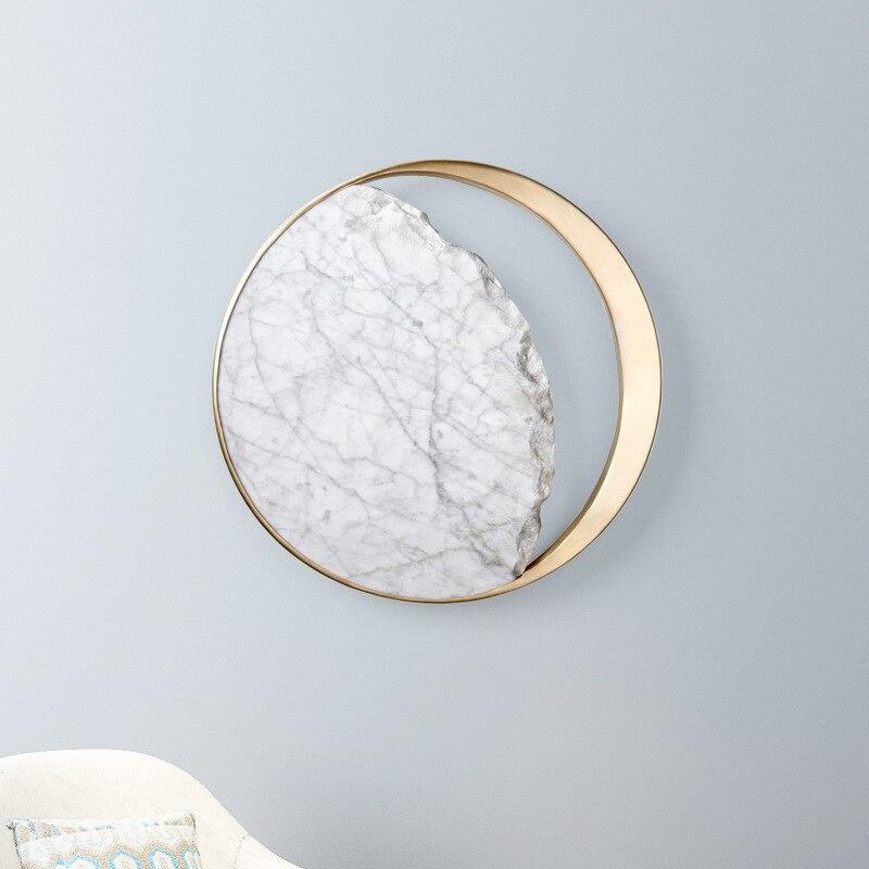 Posmoderno minimalista nórdico creativo retro interior led lámpara de pared dormitorio lámpara de noche pasillo lámpara LB01036