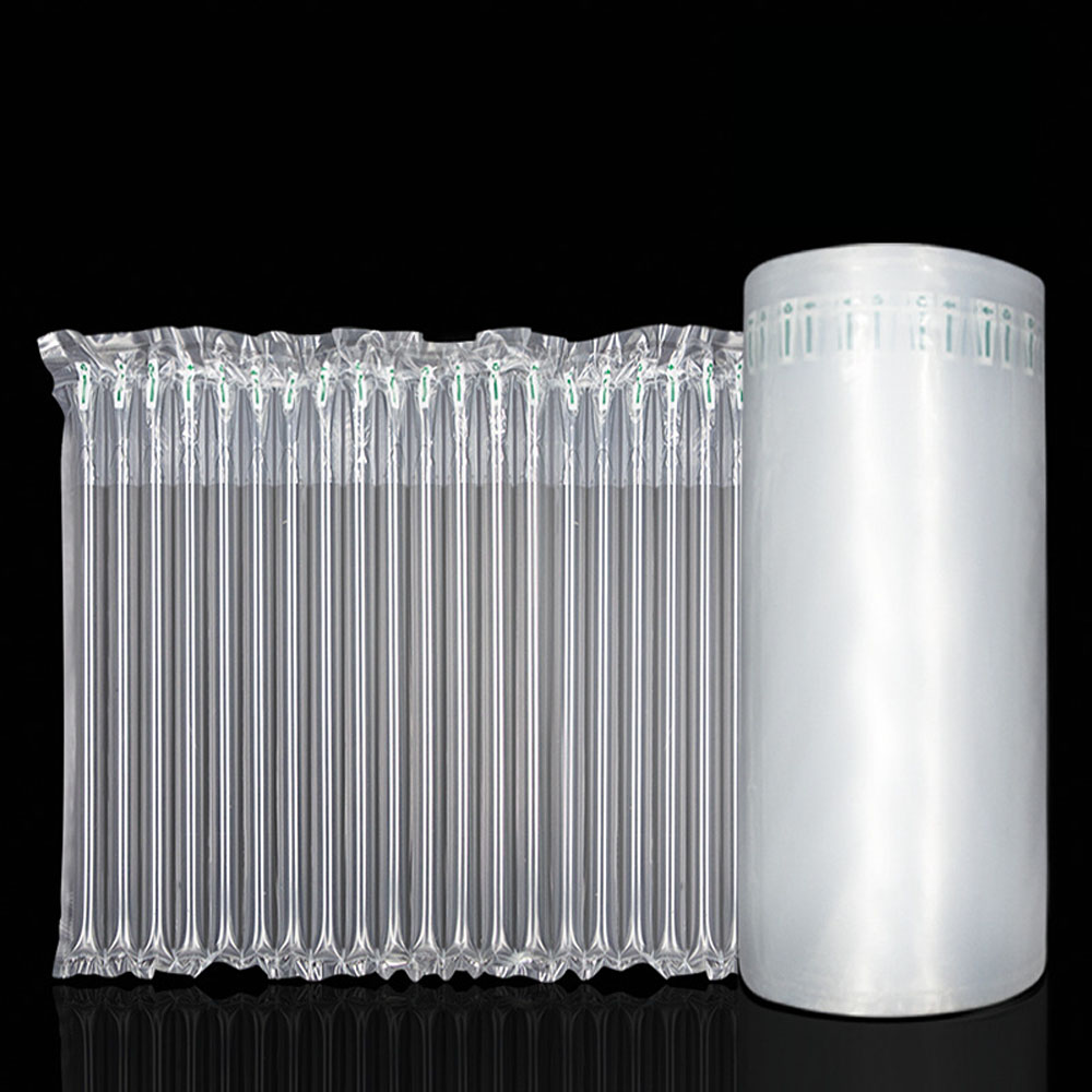 25 Cm Wide And 50 M Long  Inflatable Air Buffer Plastic Packaging Air Column Protective Bubble Bag Packaging
