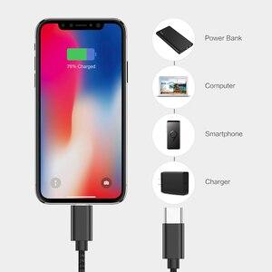 2020 новый PD кабель для быстрой зарядки для типа C на кабель Lightning для iPhone 11 Pro X XS 8 XR USB C кабель для зарядки данных для Macbook