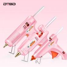 70W 150W Professional Hot Melt Mini Glue Gun Set with 7mm 11mm hot glue gun sticks for DIY Repair tools