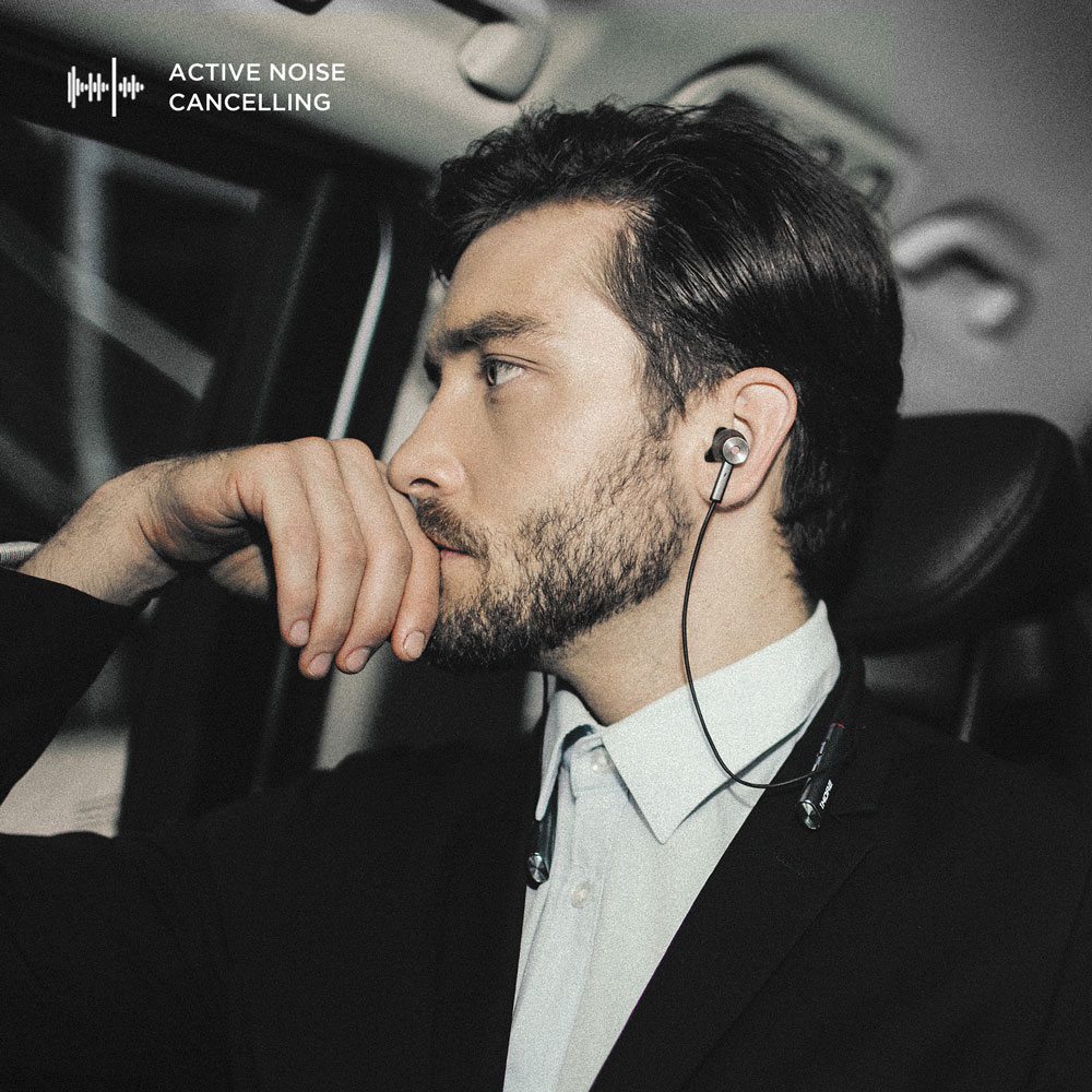 Image 4 - 1MORE E1004BA Dual Driver BT ANC in Ear Earphones Wireless Bluetooth Headset with Active Noise Cancellation, ENC, Fast Charging-in Bluetooth Earphones & Headphones from Consumer Electronics
