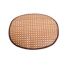 NEW Cozy Dog Pet Summer Breathable Sleeping Mat Bed Puppy Cat Doggie Cooling Pad Cushion Oval Grid Bamboo Mats High Quality