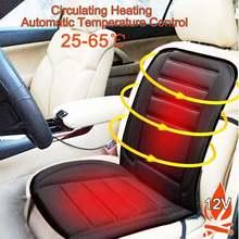 1Pcs 12V Fast Heating & Adjustable Car Seat Cushion Cove