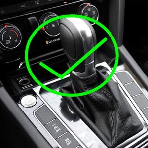 Image 4 - AT DSG LED Synchronize electronic display Gear Shift Knob Shift Lever Handball for V W Passat B7 Golf MK 6 CC Beetle Scirocco