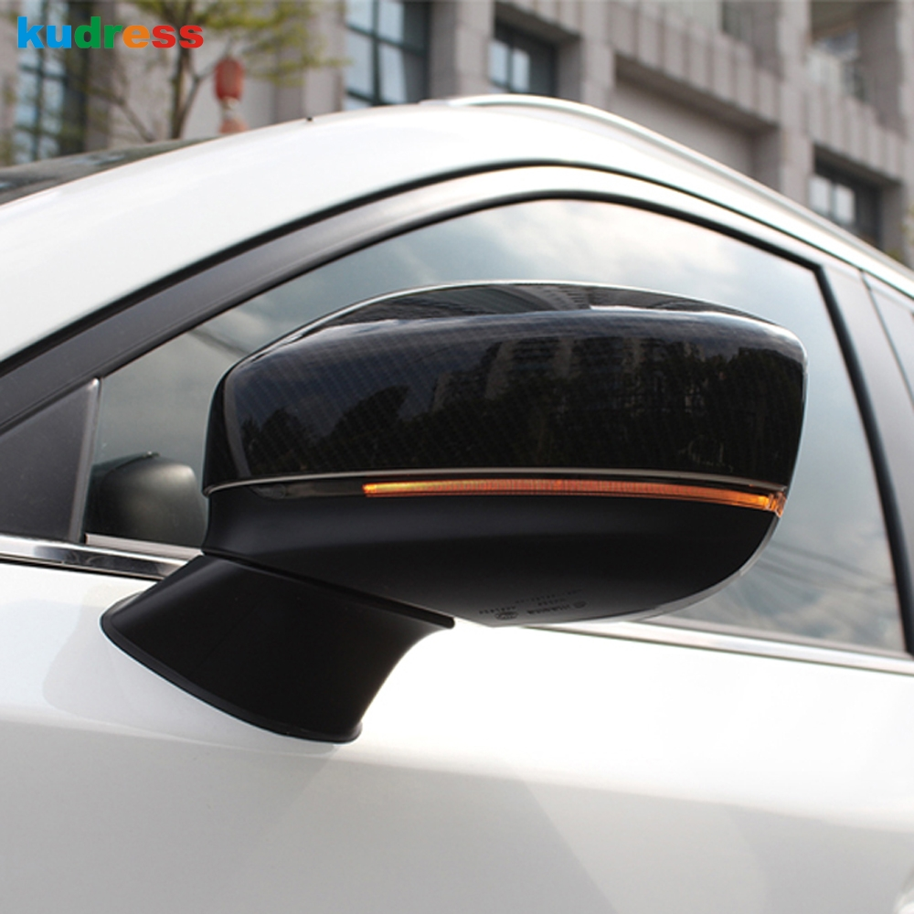 For <font><b>Mazda</b></font> <font><b>CX5</b></font> CX-5 KF CX8 CX-8 2017-2020 <font><b>2019</b></font> Chrome Car Side Door Rearview Mirror Overlay Backup Mirror Cover Trim <font><b>Accessories</b></font> image