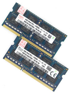 Sodimm Memory Notebook Laptop Ram Ddr3l 1600mhz Skhynix PC3L-12800S 4GB Non-Ecc 204pin