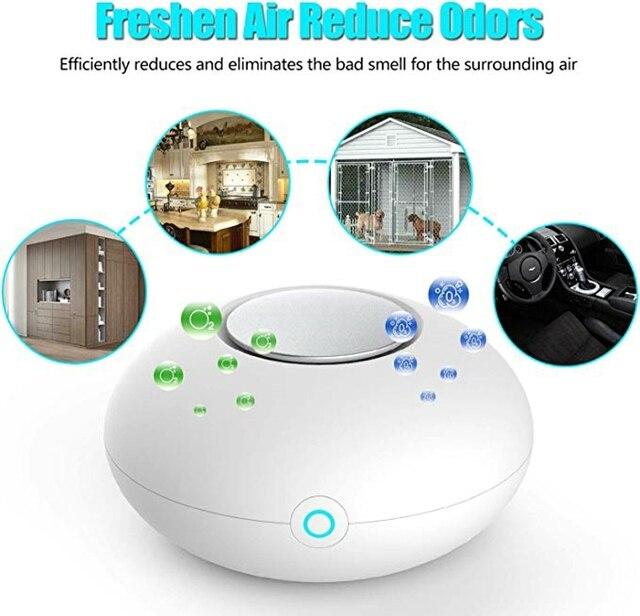 RIGOGLIOSO Mini Ozon LuftreinigerDeodorizer 4