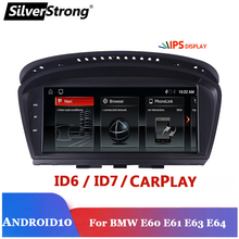 Android 10 E60 Android reproductor Multimedia para BMW serie 5 E60 E61 E63 E64 E90 E91 E92 525 530 CCC CIC iDrive 720P cámara de apoyo