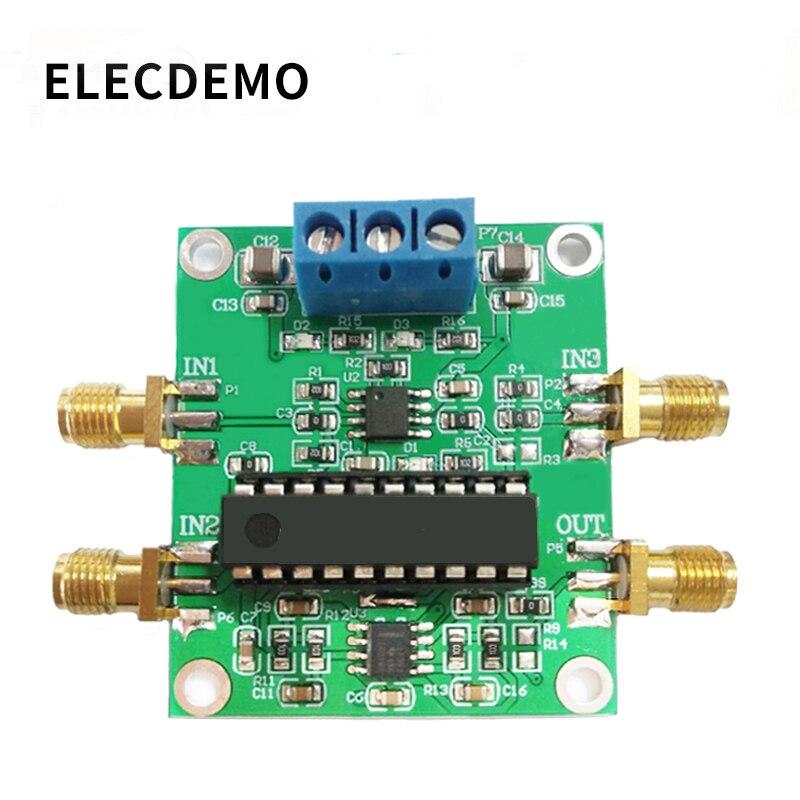 AD630 Module Lock-in Amplifier Module Minimum System Phase Sensitive Detection Weak Signal Conditioning Balanced Modulation
