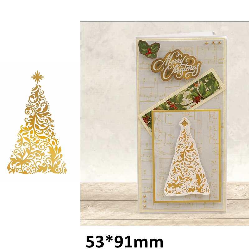 Hot Foil Plates Merry Christmas Deer Snowflake Metal Cutting Dies DIY Scrapbooking Photo Album Card Making New Dies Cut 2019