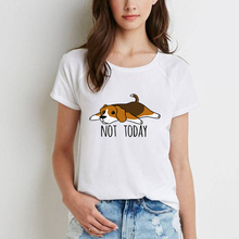 Newest Fashion Funny T Shirts Women Beagle Tricks Women's T-shirt Camisetas Animal Print Dabbing Bea