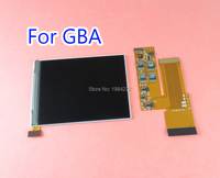 OCGAME For Nintend GBA Console Replacement Backlight Screen 10 Levels High Brightness IPS Backlight Backlit LCD Screen