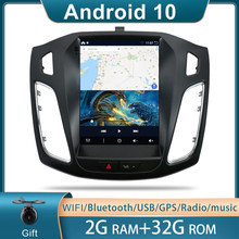 9,7 zoll Auto Android 10 GPS Navigation-Player für Ford Focus 3 Mk 3 2011 2012 2013 2014 2015 Auto multimedia Radio Video Player