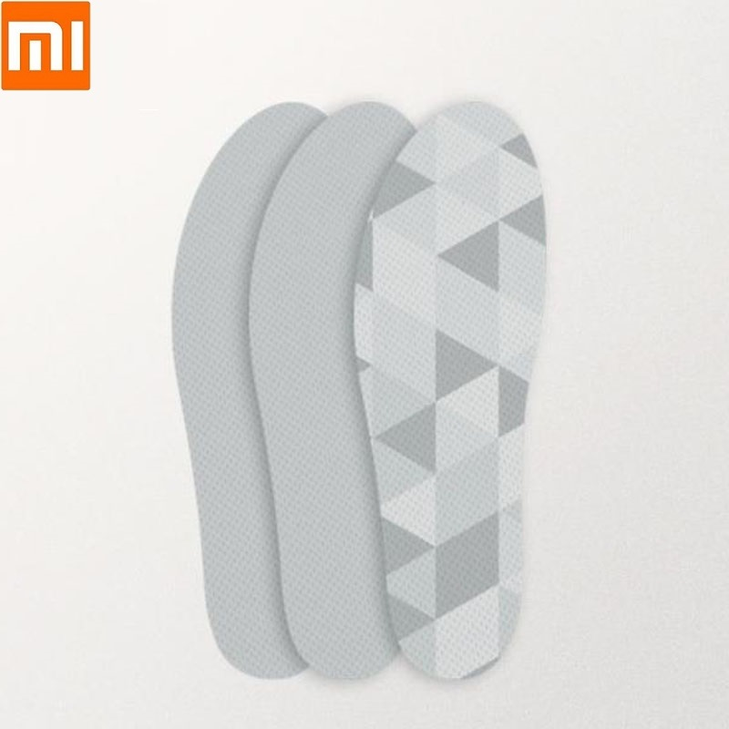 Xiaomi 3 Pairs Core Soft Cork Light Insole Comfortable Breathable Sweat Insoles Light And Soft Shoe Pad