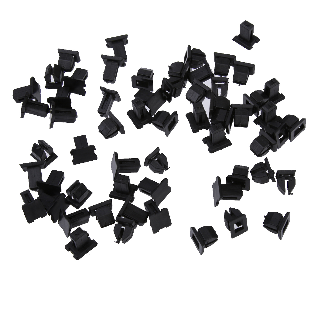 30x Plastic Car Retainers Fasteners Clip <font><b>Mercedes</b></font> Door Trim Panel Retainers Fasteners For <font><b>Mercedes</b></font> 12499007929C75 For Hole 9.2mm image