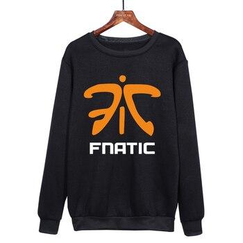 League of Legends fnatic Team Uniform Long-sleeved harajuku Sweatshirt Game fnatic Team Soft comfortable Hoodies 1