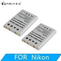 PALO 1600 mAh EN-EL5 es EL5 ENEL5 batería para cámara digital Nikon Coolpix P4 P80 P90 P100 P500 P510 P520 P530 p5000 P5100 5200