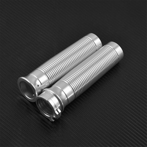 Image 3 - Motorcycle 1 Handlebar Grips Hand Grips For Harley Sportster XL Dyna Fat Bob FXDF Street Bob Low Rider Breakout FXSB Touring