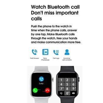 40MM 44MM Original iwo W26 Smart Watch Dial Bluetooth Call IP68 Waterproof Body Temperature ECG Heart Rate Monitor Smartwatch 3