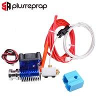 Volcano Drucken Kopf Extruder kit Wade oder Bowden 12V/24V J-kopf Hotend mit Lüfter für 1.75/3 0mm Filament 3D Drucker