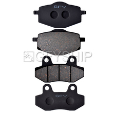 цена на 125 For Cagiva Brillio 125 2008 08 125 Motorcycle High quality Front Rear Brake Pads Disks Brake pad