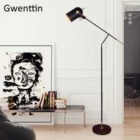 Nordic Leather Belt Floor Lamp Standing Light Fixtures Modern Led Stand Lamp Living Room Loft Industrial Luminaire Home Decor