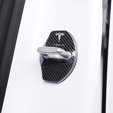 Car-Styling Car Lock Lock Cover emblemi Auto custodia per Tesla modello 3 modello X modello Y Style Roadster accessori