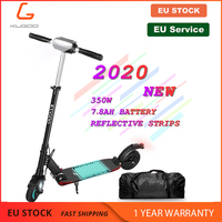 [Poland Stock] KUGOO S1 PRO Adult Scooter Folding Electric 350W 30KM/H 25KM/H LCD Display 3 Speed Modes Large Standing Platform